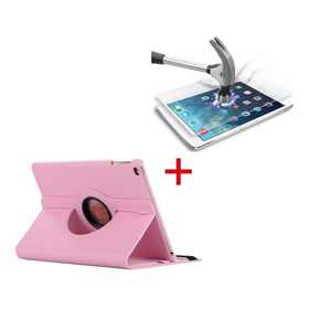 iPad 10.2 2019 7ma Generacion Funda Y Mica Vidrio Templado