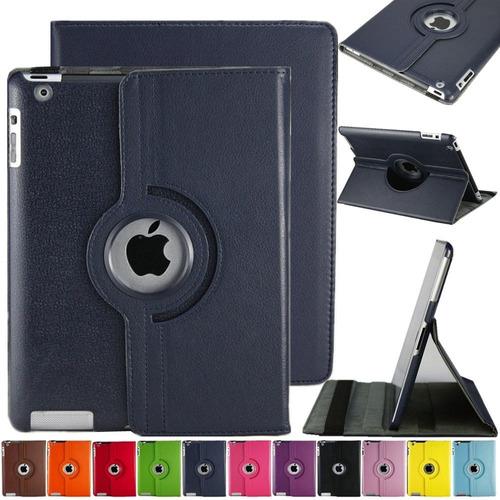 ipad 2 3 4 estuche smart cover 360 + screen + lapiz