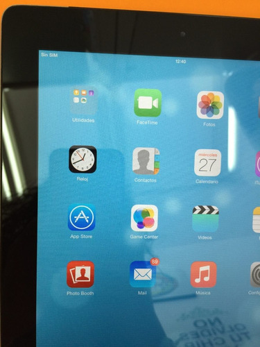 ipad 2 de 32gb wifi+sim negra bien cuidada 9 de 10 estetico