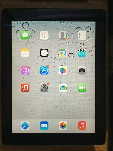 ipad 2 negra 32gb wifi+sim 9-10 estético envíos todo el país
