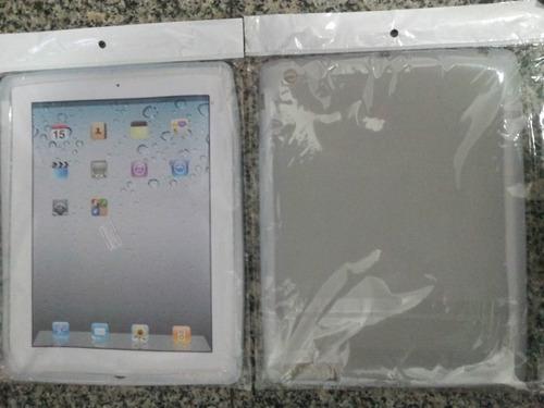ipad 3 e 4 / new ipad capa silicone transpararente