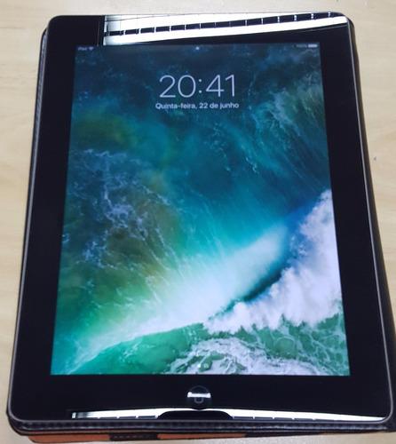 ipad 4ª geração com tela retina apple wi-fi + 3g* md516bz/a