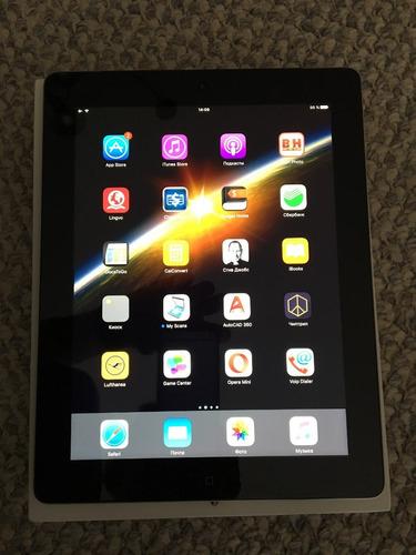 ipad 4 pantalla retina 16gb wifi envíos a todo el país