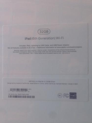ipad (6th generation) wi-fi 32 gb