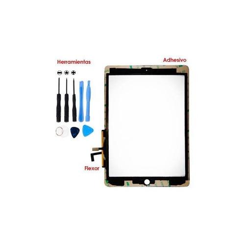 ipad air 1 touch screen negro + adhesivo