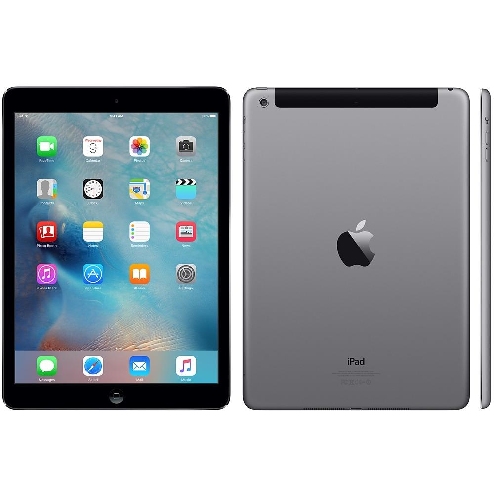 Apple Ipad Air 16gb Tela Retina 9.7 Wifi 4g Space Gray ...