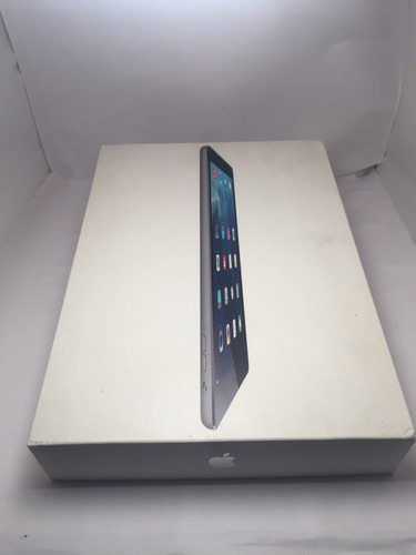 ipad air 32gb, gris espacial.