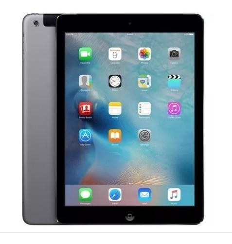 ipad air apple wi-fi  32gb cinza esp  a1475