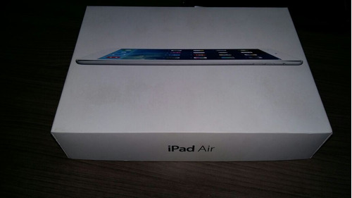 ipad air apple wi fi 4g 16 g prata modelo md794br/a