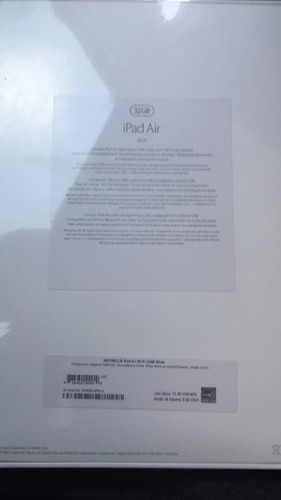 ipad air nueva 32 gb sellada
