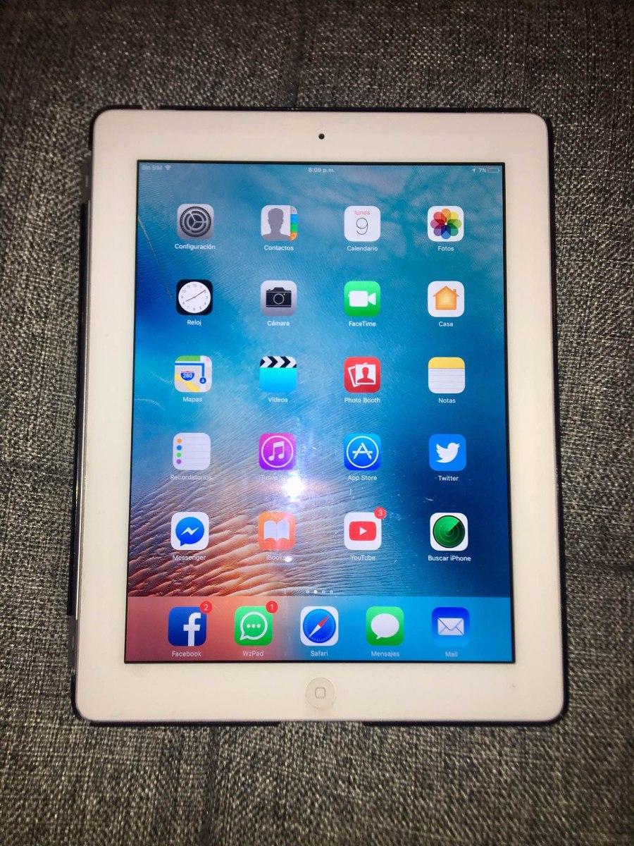 iPad Cuarta Generación Wifi + Celular 64 Gb - $ 5,000.00 en Mercado ...