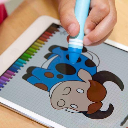 ipad lápiz capacitivo, boxwave [kinderstylus] lápiz de color