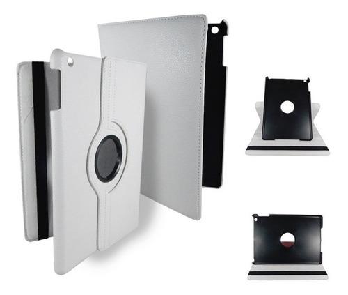 ipad mini 1 funda giratoria blanco 360° stand dos posiciones
