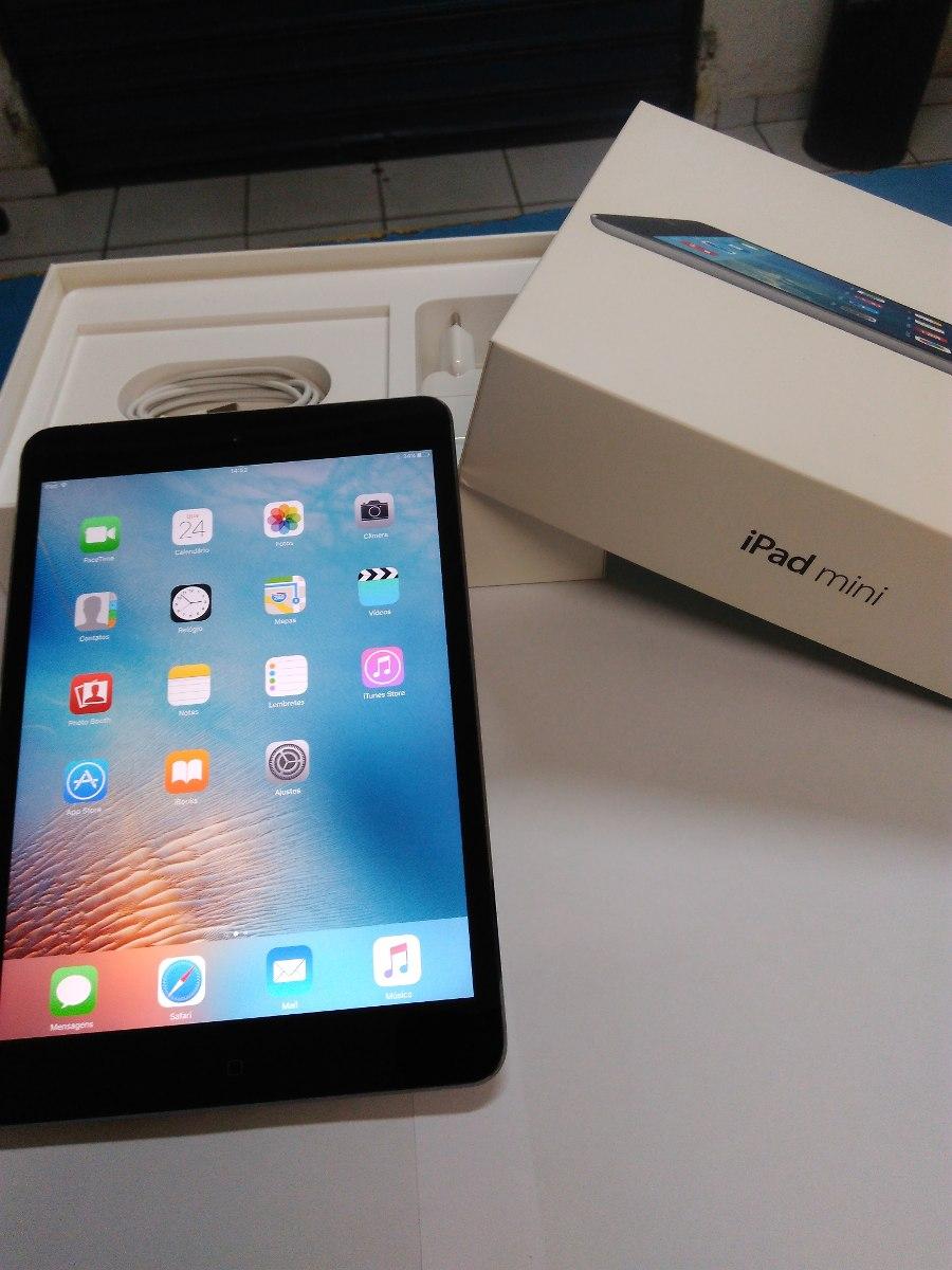 Ipad Mini 2 Retina 16gb Wifi Na Caixa Brinde Garantia R