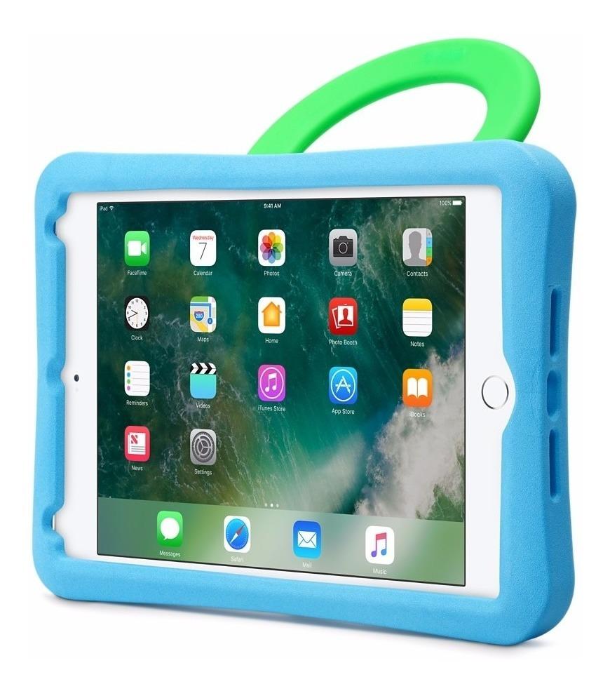 sale retailer 44a03 98862 iPad Mini 4 Case Evo Play Tech21 Azul-verde
