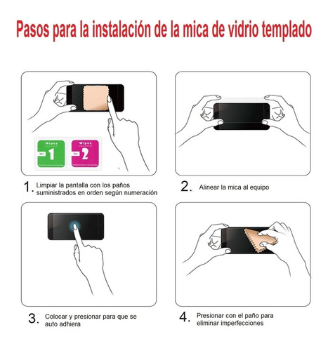 ipad mini 4 protector pantalla vidrio templado miraflores