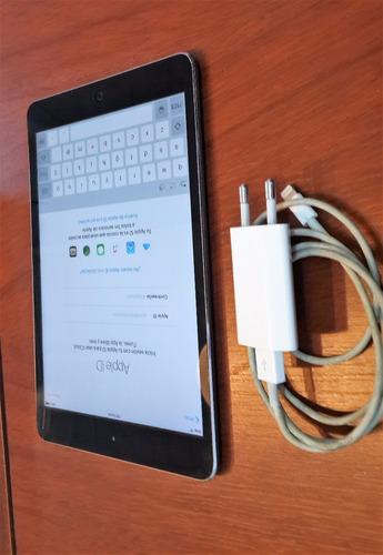 ipad mini aluminio como 0 km libre icloud permuto