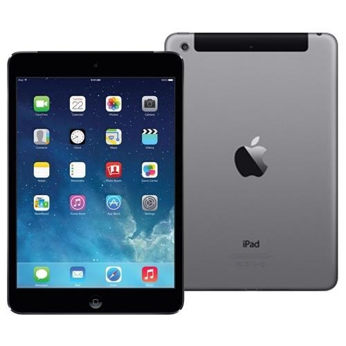 ipad mini apple mf442br/a wifi cel 16gb a1454 gray cinza
