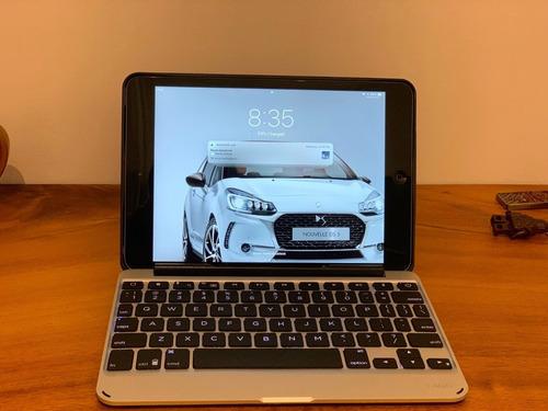 ipad mini2 retina 16gb + estuche teclado zagg