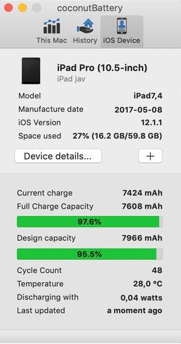 ipad pro 10,5 64gb wifi + 4g