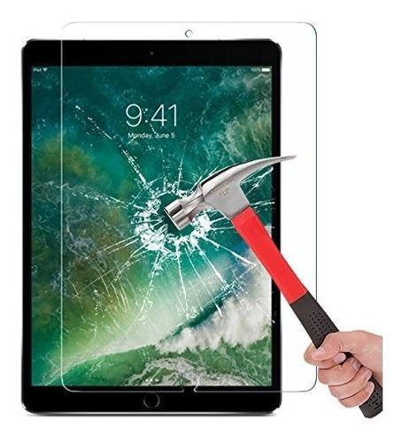 ipad pro 10.5 protector de pantalla, omoton [pencil