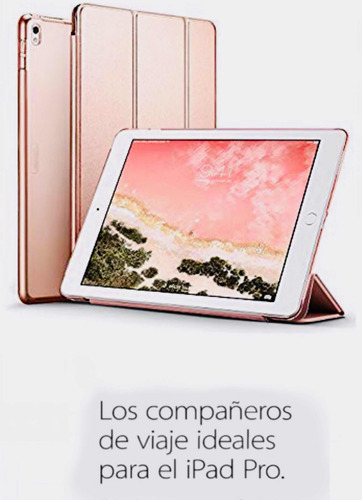 ipad pro 12.9  -128 gb color oro - con cover