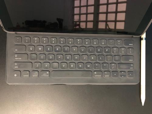 ipad pro 12.9 2ªgeração wifi 256gb + pencil + teclado + capa