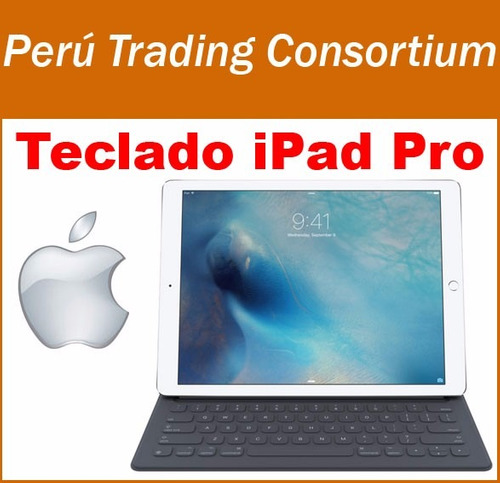 ipad pro 12.9 smart keyboard original de apple teclado