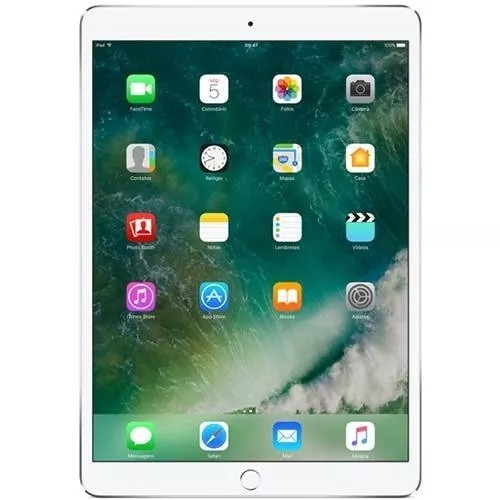 ipad pro apple, 10,5, 64gb, prata, wi-fi+celular vitrine