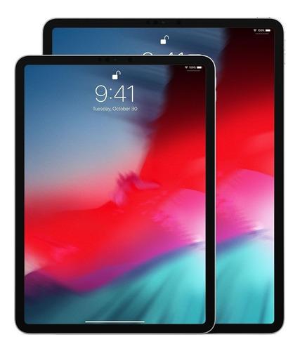 ipad pro apple 64gb, ger. 3 tela 12.9 wifi +4g celular -cinza - garantia ate 22/01/20
