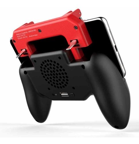 ipega 9123 gamepad joystick control con ventilador celular