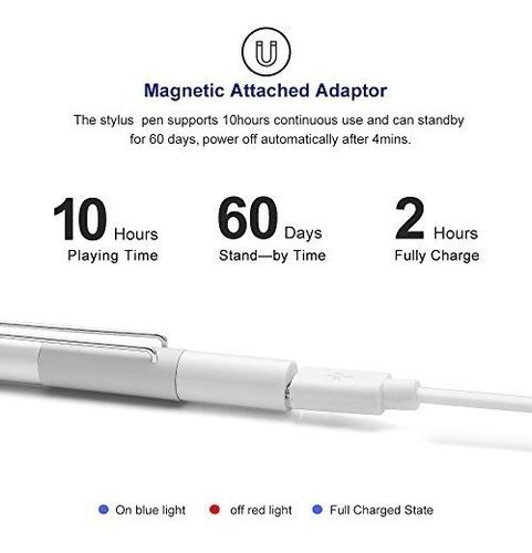 ipens x1 active stylus pen, ipad pencil touch pen, pluma