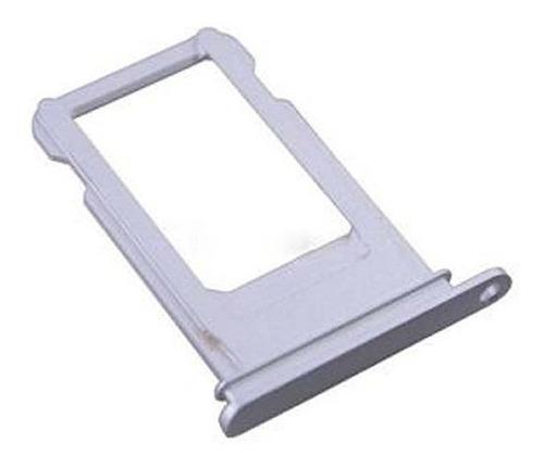 iphone 10 x bandeja porta sim plateado charola chip