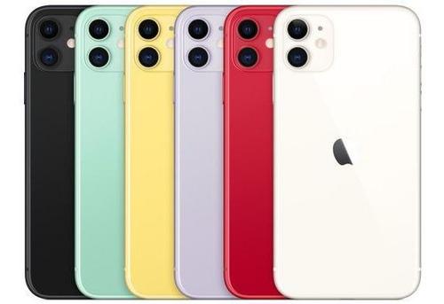 iphone 11 128gb nuevos sellados un año de garantía + mica