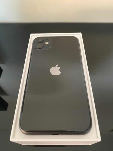 iphone 11 64 gb black solo días de uso con boleta