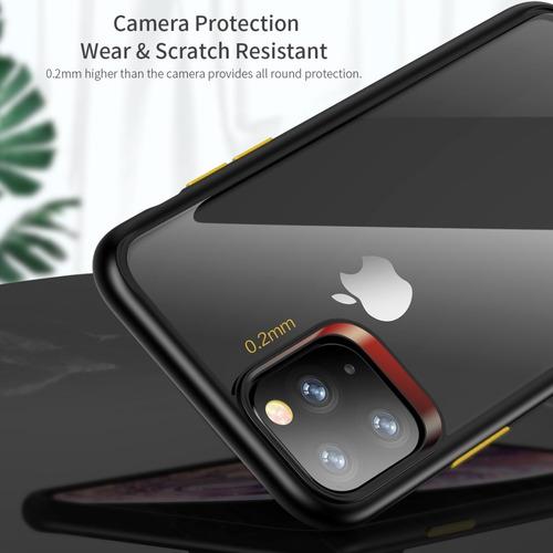 iphone 11 - carcasa funda restistente + lamina protectora