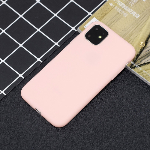 iphone 11 pro max 2019 lovely candy coloase color: rosa clar