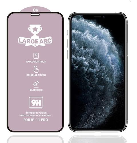 iphone 11 pro / x / xs lámina vidrio templado full   kyrios