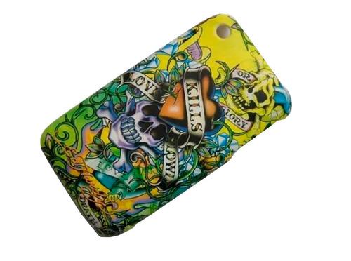 iphone 3g 3gs funda acrilica diseño estuche disney apple