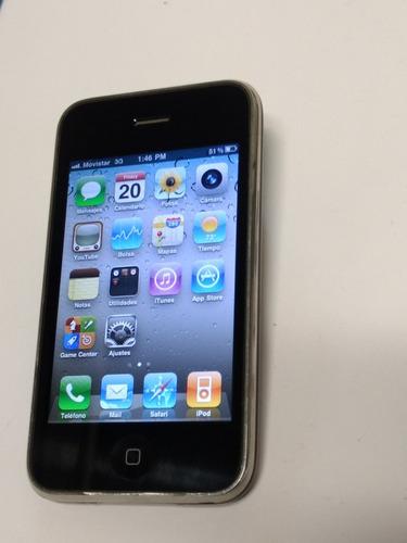 iphone 3gs 16gb sin falla marcas de uso