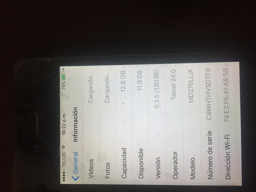 iphone 4 16gb - estetica 10 - envio gratuito