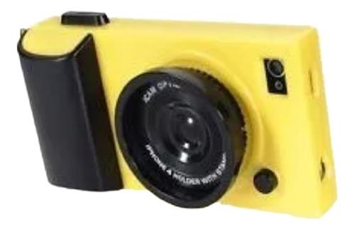 iphone 4 4g 4s funda icam amarillo stand correa