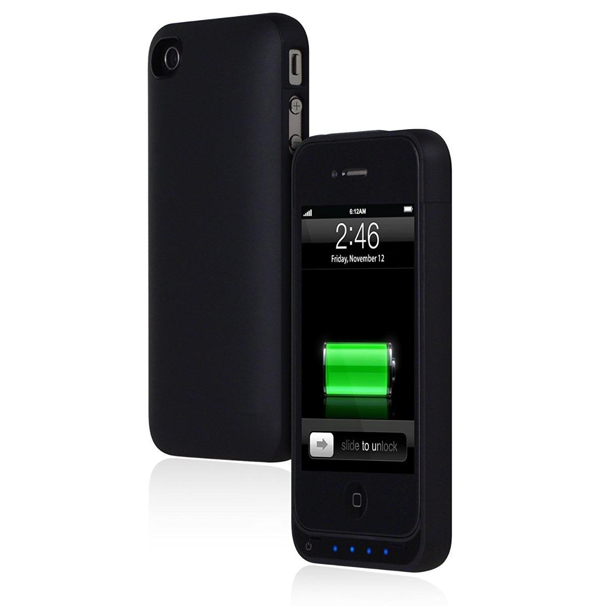 3a122ee5e15 iphone 4 4s funda con bateria estuche case protector cover. Cargando zoom.