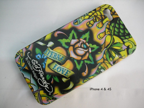 iphone 4 4s funda ed hardy case protector estuche forro