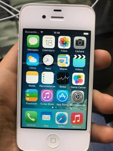 iphone 4 8gb súper buena condicion