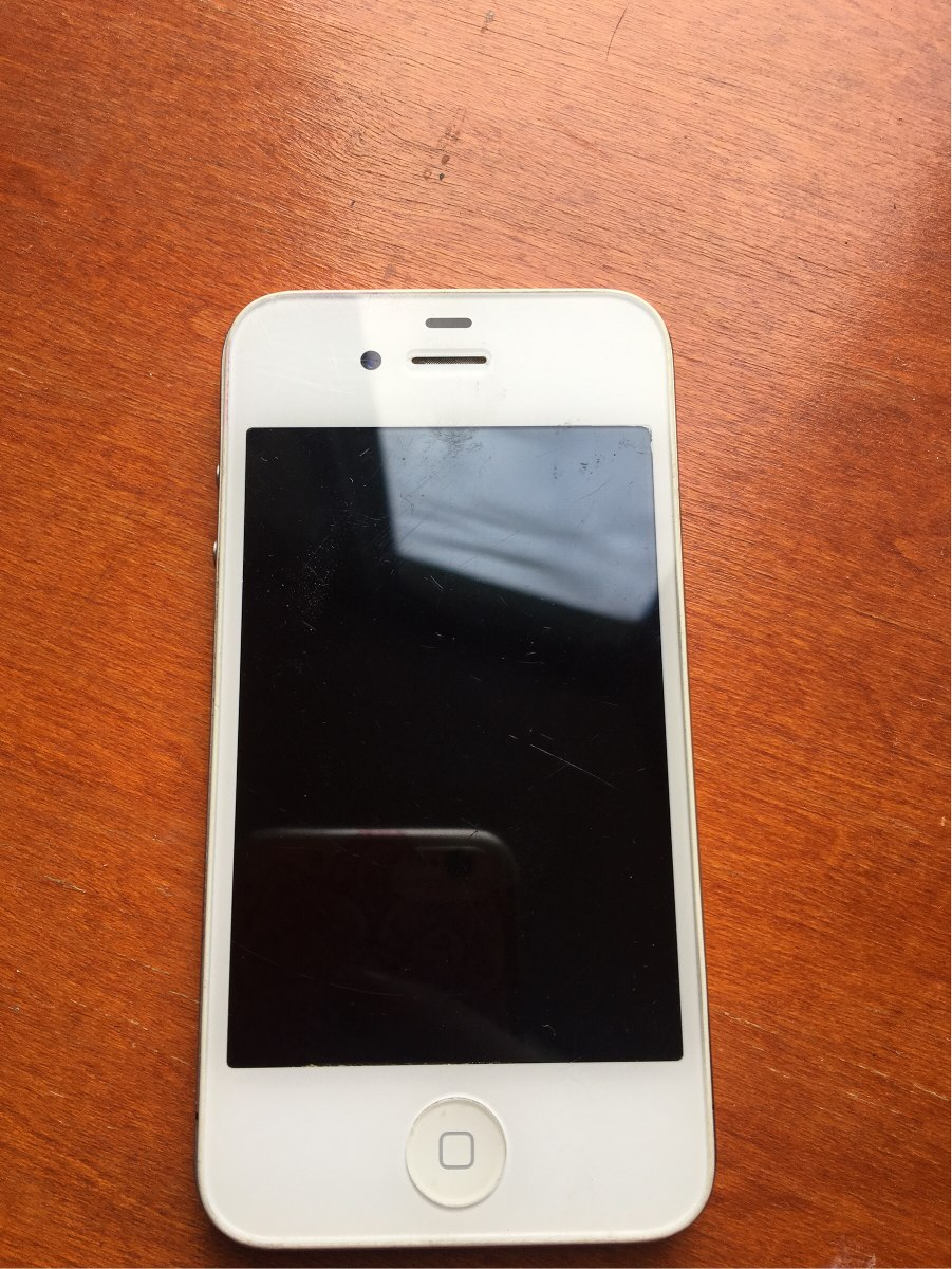 82f7f22878a iPhone 4 8gb Usado - $ 1,400.00 en Mercado Libre