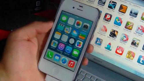 iphone 4 blanco 16gb en muy buen estado.