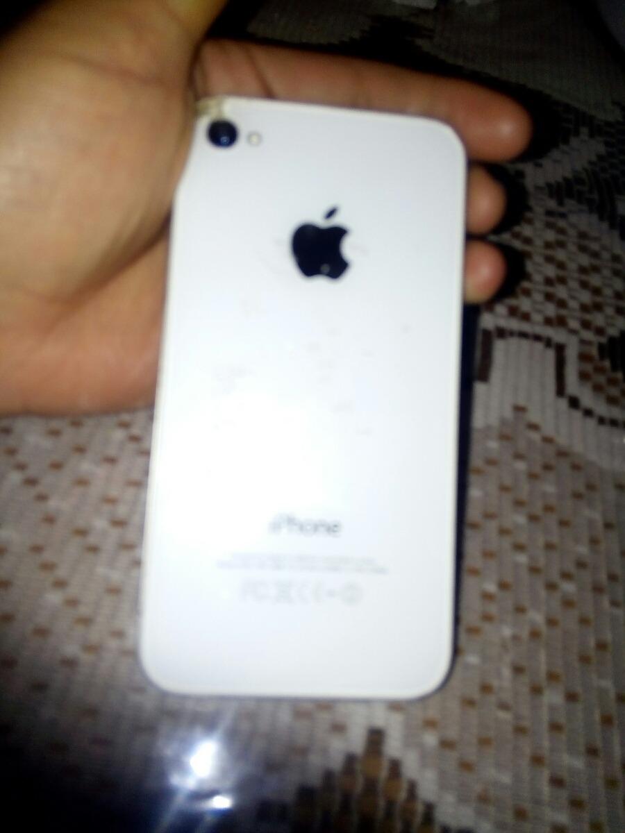 344d09c8881 iPhone 4 Blanco Y Negro - $ 1,250.00 en Mercado Libre