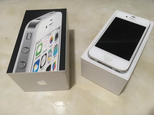 iphone 4 com película e carregador