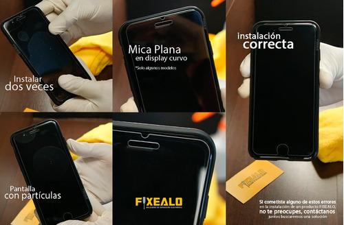 iphone 4 funda protector aluminio tipo espejo case + cristal